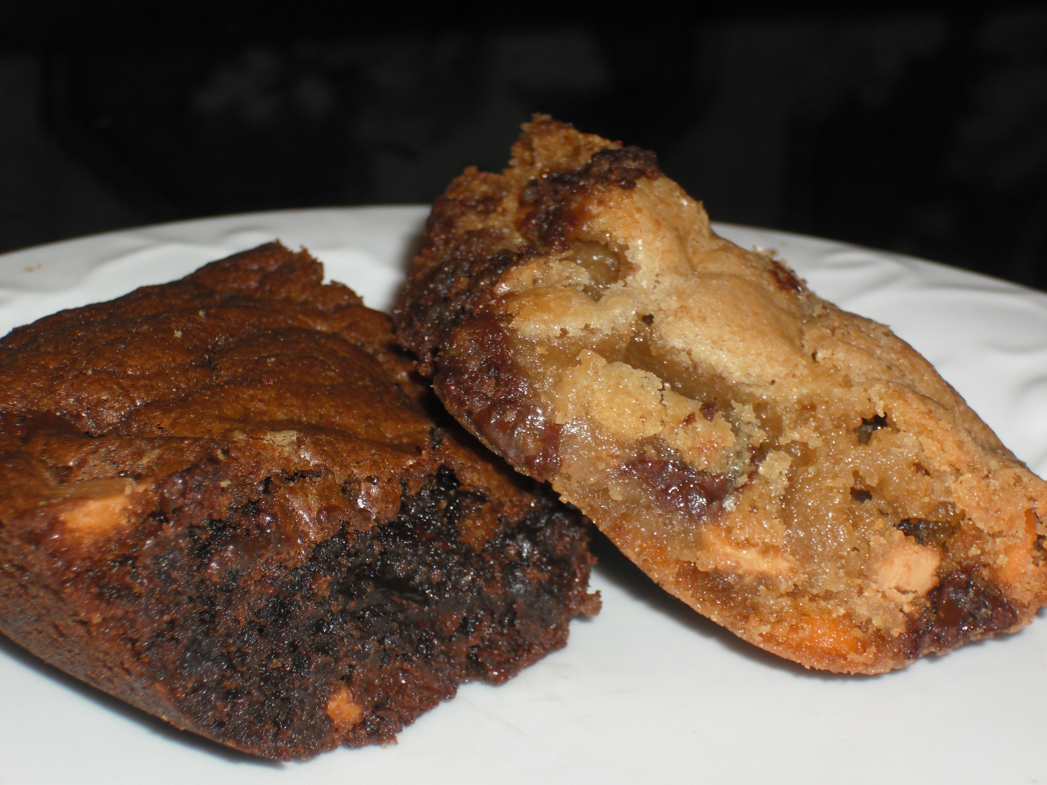 Chocolate-Butterscotch Chip Cookie Bars: two ways | Beauty & the Feast