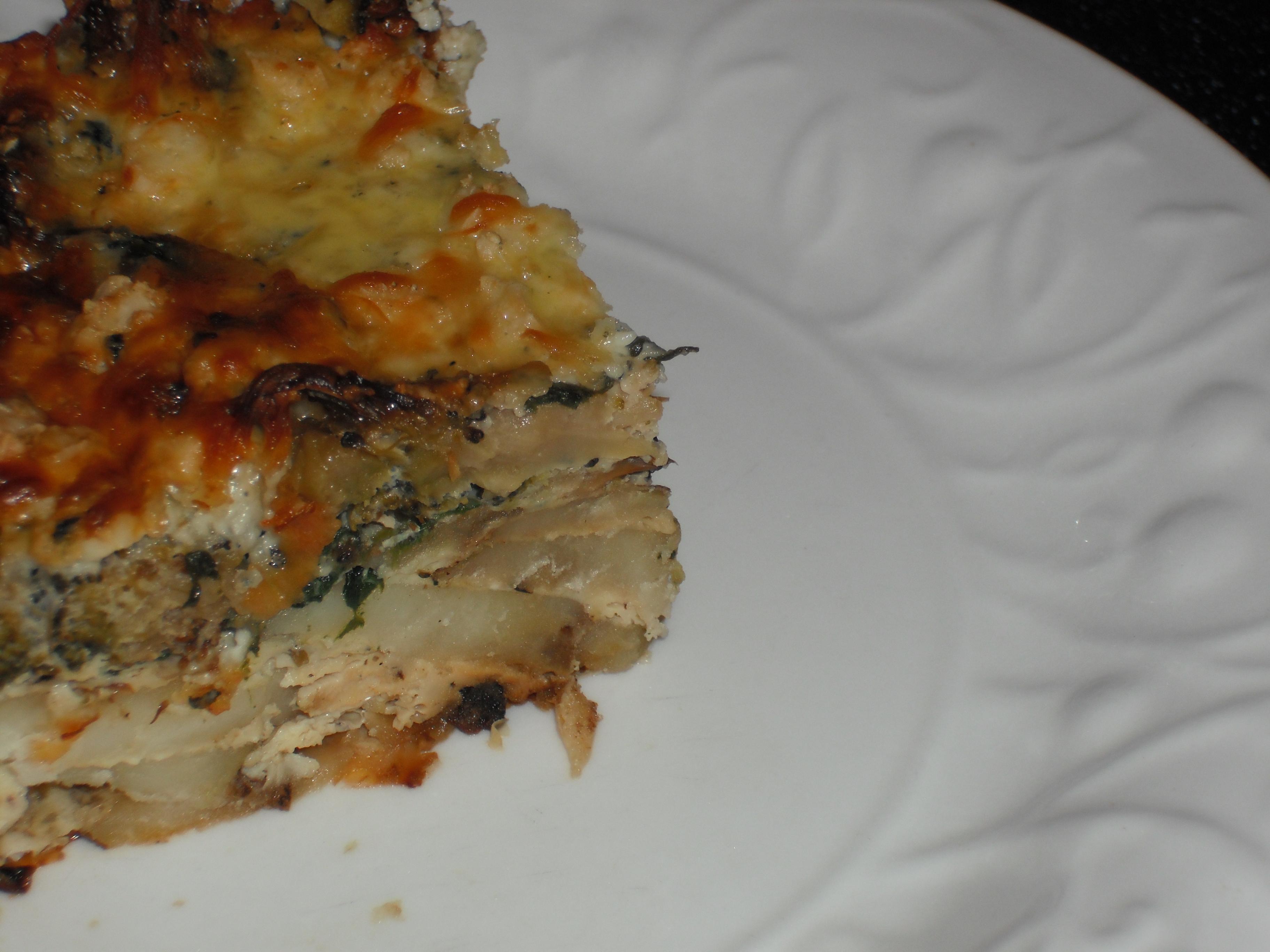 Lasagna Frittata Recipe — Dishmaps